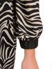 Elegancka sukienka z paskiem i gumkami na rękawach 27853