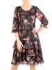 Elegancka wiosenna sukienka, kreacja z falbanami 29049