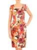 Elegancki komplet damski, krótki żakiet z wyszczuplającą sukienką 30528