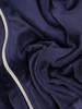 Granatowy dres welurowy, komplet z zapinaną bluzą z kapturem 29757