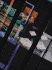 Kolorowa tunika z abstrakcyjnym nadrukiem 23416