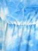 Letnia sukienka maxi, kreacja z drapowanym dekoltem 30301