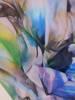 Letnia sukienka z szyfonu, prosta kreacja w kwiatowy wzór 30329