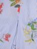 Luźna sukienka z kontrafałdą, oryginalna kreacja z półgolfem 29844