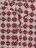 Luźna tunika w kontrastowy wzór 24984