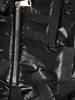 Połyskująca czarna kurtka 28162