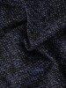 Prosta sukienka z asymetrycznym kołnierzem i ozdobnymi guzikami 23392