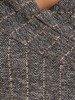 Prosta sukienka z ozdobnym kołnierzem, kreacja w jesiennym wzorze 22978