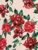 Rozkloszowana sukienka na ramiączkach, kreacja w kwiaty 30067