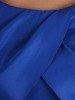 Rozkloszowana sukienka z kołnierzem, modna kreacja w groszki 25372