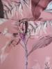 Rozkloszowana sukienka z kopertowym dekoltem, kreacja z paskiem 27378