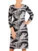 Sukienka damska, dzianinowa kreacja na jesień 27077