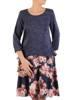 Sukienka jesienna, modna kreacja z dzianiny 27656