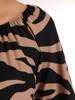 Sukienka maxi, elegancka kreacja z rozcięciem 27683