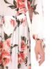 Sukienka maxi, elegancka kreacja z rozcięciem 29934