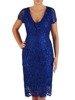 Sukienka na wesele, elegancka kreacja z gipiury 22557