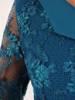 Sukienka na wesele, elegancka kreacja z koronki i tkaniny 26430