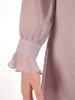 Sukienka o trapezowym kroju, kreacja z falbanami  25321