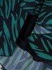 Sukienka szyfonowa, modna kreacja z wiązaniem na dekolcie 24676