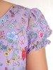 Sukienka w kwiaty, dziewczęca kreacja z falbanami 26681