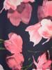 Sukienka w kwiaty, nowoczesna kreacja w fasonie maskującym brzuch 29819