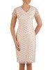 Sukienka wyjściowa, elegancka kreacja z koronki 25375