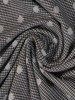 Sukienka z dzianiny, kreacja z kopertowym dekoltem 24133