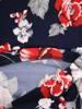 Sukienka z dzianiny, prosta kreacja w oryginalnym kwiatowym wzorze 28824