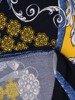Sukienka z dzianiny, prosta kreacja w oryginalnym wzorze 26214