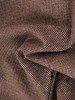 Sukienka z falbanką przy dekolcie, prosta kreacja z wełny 22983