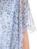 Sukienka z szyfonu, zwiewna kreacja w kwiaty 29168