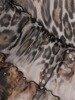 Sukienka z szyfonu, zwiewna kreacja z falbanami 26078