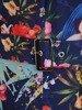 Sukienka z tkaniny, modna kreacja z suwakiem na dekolcie 25278
