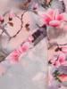 Sukienka z tkaniny, prosta kreacja w oryginalnym wzorze 26491